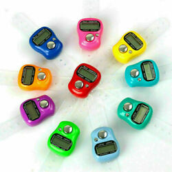 1Pcs Digital LCD Electronic Golf Finger Hand Ring Tally Counter Colour $1.39