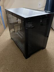 Lian Li O11 Dynamic Mini Tower Black Computer Case With Vertical Gpu Bracket Mod $199.99