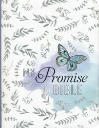 KJV My Promise Bible White with butterfly by Christian Art Publishers 2017 $23.34