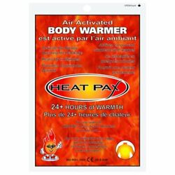 HEAT PAX BODY WARMERS Air Activated 24 Hour BOX OF 40 $92.39