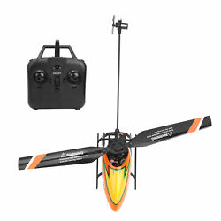 C129 4 Channel Flybarless Fixed Height Helicopter RC Aircraft Aero Model Orange $67.83