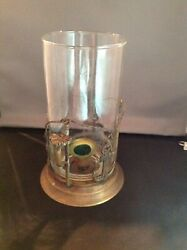 VINTAGE BRASS SHIPS ANCHOR CANDLE STICK HOLDER NAUTICAL YACHT SEA SAILING NICE $12.99
