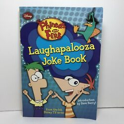 Phineas and Ferb Laughapalooza Joke Book $3.50
