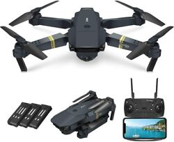 Rc Drone HD Camera Foldabled Drone 3D Flip Selfie Video Rc Wifi FPV Quadcopter $42.99