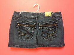 Vanilla Star Trendy Size 3 Denim Mini Skirt $19.99