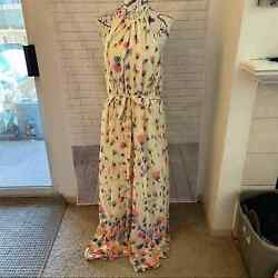 ModCloth illuminated elegance floral maxi dress plus size 3X $68.99