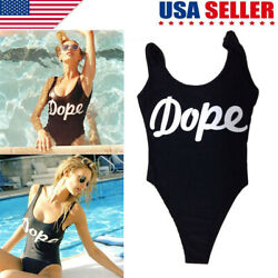 Charming Women Girls#x27; Swimwear One Piece Bikini Swimsuit Backless Beach Suit $6.39