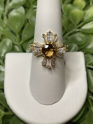 Ring Bomb Party Size 7 Topaz Ring $21.00