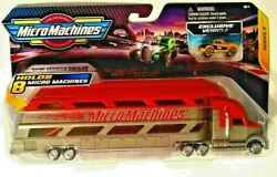 Micro Machines SERIES 2 Mini Vehicle HAULER RED 2020 Holds 8 w Exclusive Car $17.99