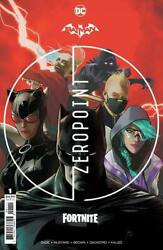Batman Fortnite Zeropoint #1 Cover A Sealed NM 1st Print with code $19.99