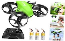 Upgraded A20 Mini Drone Easy to Fly Drone for Kids and Beginners Indoor Green $41.04