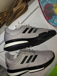 new gray Adidas SoleCourt M Primeblue 12 Tennis sneakers Shoes $84.99