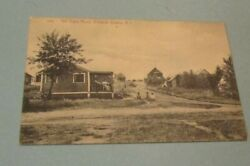 1910 Era Hill Crest Road Warwick Downs Rhode Island RPPC Real Photo Postcard $9.95