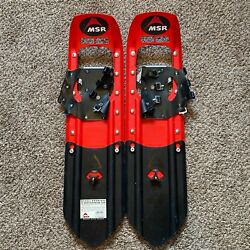 MISSING STRAPS Snow Shoes MSR Denali Classic 8x22 With 8 Inch Tails $139.97
