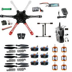 JMT F550 Airframe RC Hexacopter Drone Kit DIY PNF with Kkmulticopter FC $174.78
