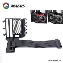Vertical GPU Mounting Bracket Kit 7 PCI Slots Case MOD Used Universal Support $55.19