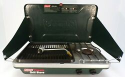 Coleman Propane Grill Stove 9921 WORKS $59.99