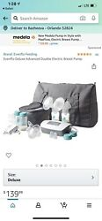 evenflo advanced double electric breast pump $80.00