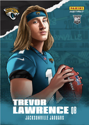 PS TREVOR LAWRENCE 2021 PANINI INSTANT NFL DRAFT NIGHT ILLUSTRATION ROOKIE RC $9.99