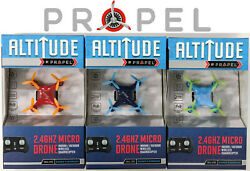 Propel Altitude 2.4GHZ Micro Drone Quadcopter 3 Colors FREE Shipping BRAND NEW $17.50