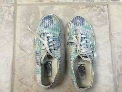 Vans Off The Wall Girls Skate Shoes Sneakers Lace Up Tropical Size 4.5 $19.50