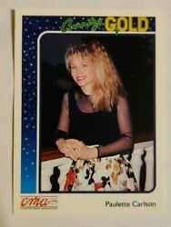 1992 Sterling Cards CMA Country Gold #39 Paulette Carlson
