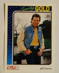 1992 Sterling Cards CMA Country Gold #24 Jeff Chance