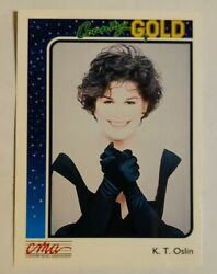 1992 Sterling Cards CMA Country Gold #68 K.T. Oslin