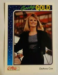 1992 Sterling Cards CMA Country Gold #86 DeAnna Cox
