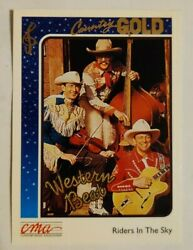 1992 Sterling Cards CMA Country Gold #93 Risers In The Sky