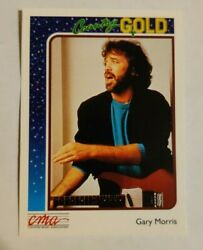 1992 Sterling Cards CMA Country Gold #76 Gary Morris