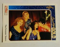 1992 Sterling Cards CMA Country Gold #28 Forester Sisters