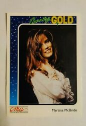 1992 Sterling Cards CMA Country Gold #37 Martina Mcbride