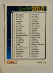 1992 Sterling Cards CMA Country Gold #100 Checklist