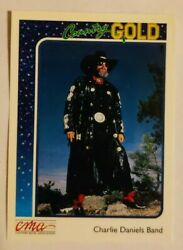 1992 Sterling Cards CMA Country Gold #51 Charlie Daniels Band