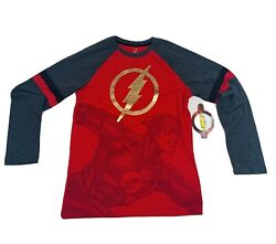 The Flash Boys Novelty Long Sleeve Size XL 14 16 NEW $9.95