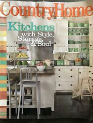Country Home Magazine May 2008 $4.00