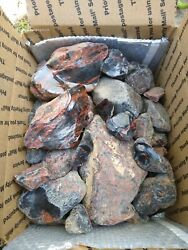 Natural Mahogany Obsidian 20 LB Bulk Lot $49.95