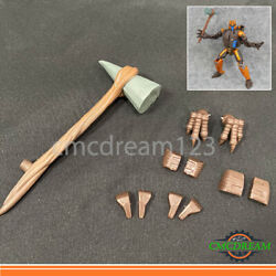 COOL For War For Cybertron Kingdom Dinobot 3D Upgrade Kits Claw Stone Hammer $23.50