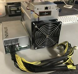 Antminer D3 X11 DASH Miner with APW3 Power Supply AU $800.00