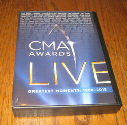 CMA Awards Live 10 DVD Set Greatest Moments 1968 2015 EXC Condition FREE Shippng