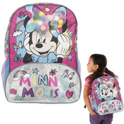 Disney Minnie Mouse 15quot; School Bag Backpack Novelty Kids Girls Gift Travel Camp $16.99