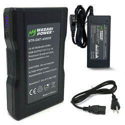Wasabi Power Gold Mount Battery 14.4V 6600mAh 95Wh and Gold Mount Battery $109.99