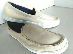 COLE HANN Sz 12 Men#x27;s Canvas Weekender Loafer Slip On Wheat $9.99