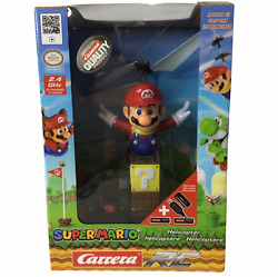 NEW Official Nintendo Flying Super Mario Carrera RC Helicopter 2.4 GHz $35.00