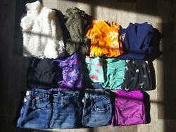 13 piece Girls 10 10 12 Clothing Lot $13.00