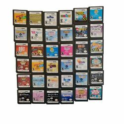 Nintendo DS Games You Choose Various Titles Cartridges Only Super Fast Shipping $2.38