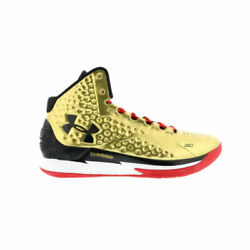 Under Armour UA SC30 Steph Curry 1 One Mid Gold All American Mens 1275292 777 $229.00