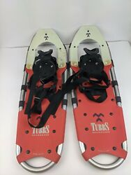 "Tubbs Aurora Snowshoes Red Made In USA 25"" X 8"" $80.00"