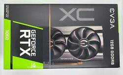 NEW EVGA NVIDIA GeForce RTX 3060 12GB GDDR6 XC Gaming Graphics Card GPU SEALED $995.00